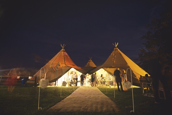 Photo courtesy of Peak Tipis