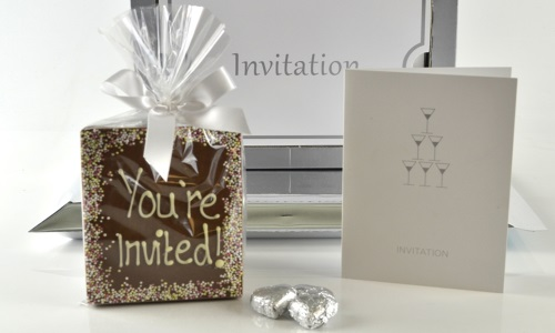 Invitation Chocolate 1