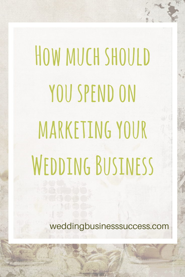 How to set a marketing budget for your wedding business