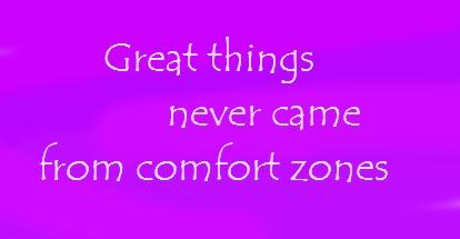 comfort zones quote
