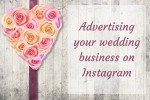 Instagram advertising for wedding businesses