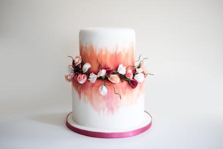Debbie Gillespie wedding cake1
