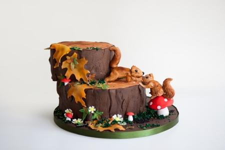 Debbie Gillespie woodland cake