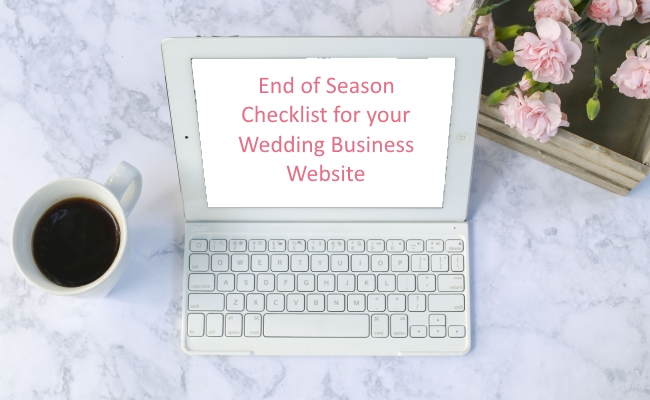 10 things to review and refresh on your wedding business website