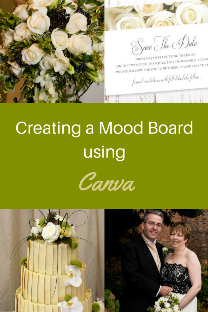 Creating a Mood Board using canva