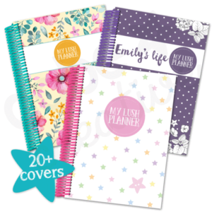 This year I'm using the Lush Planner from aabe creative.