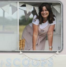 Ally Heasman, of Sweet Ally Scoops