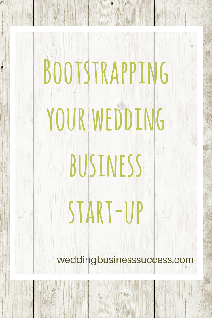 How to start a wedding business with limited funds. Learn where to be frugal without skimping on the important things.