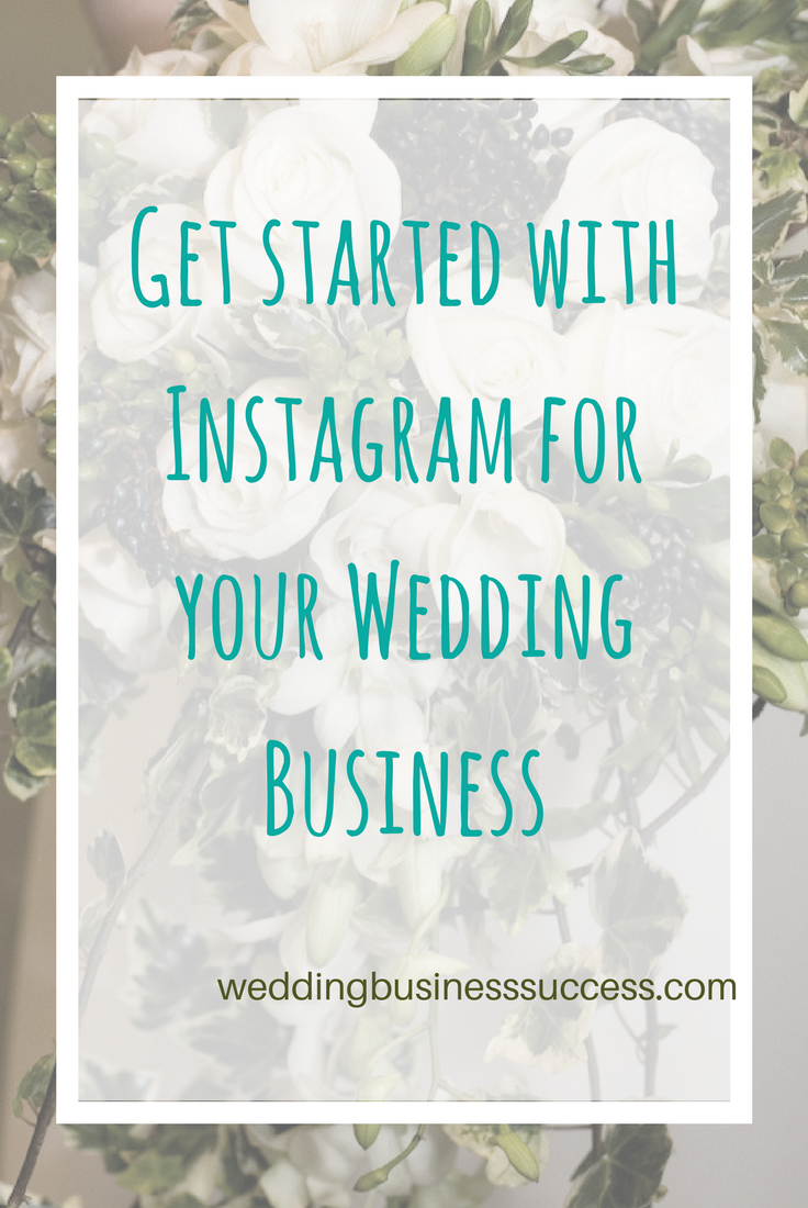 An introduction to Instagram for wedding businesses