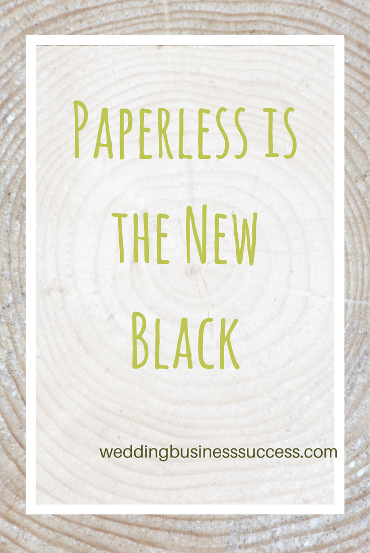 Why your wedding business needs to be paperless for millennial couples