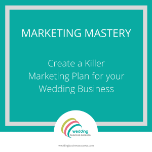wedding business marketing plan course
