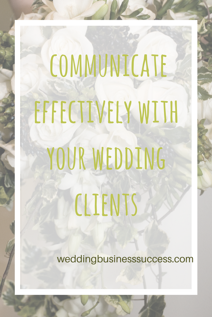 Wedding Planner Claire shares top tips for effective & efficient communication