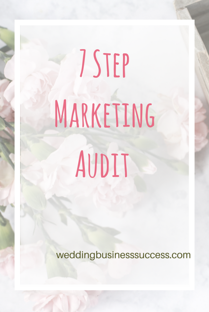 Marketing not working? Use this 7 step audit to identify the issues and solutions